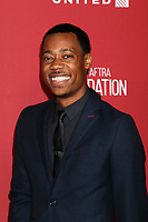 LOS ANGELES - NOV 9:  Tyler James Williams at the SAG-AFTRA Foundation's Patron of the Artists Awards 2017 at Wallis Annenberg Center for the Performing Arts on November 9, 2017 in Beverly Hills, CA
