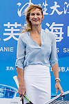 Steffi Graf of Germany, the global ambassador of Zhuhai WTA Elite Trophy 2017, poses for photo during the Steffi Graff tennis show at Zhuhai Tower on November 04, 2017 in Zhuhai, China. Photo by Yu Chun Christopher Wong / Power Sport Images