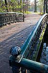 Footvbridge in the Vondelpark, Amsterdam