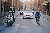 A certain victory can't escape race leader Niki Terpstra (NED/Quick-Step Floors) in the last kilometer to the finish<br /> <br /> 50th GP Samyn 2018<br /> Quaregnon &gt; Dour: 200km (BELGIUM)