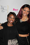 Delaina Dixon & Shawn Cheatham's daughter Vanessa at Color of Beauty Awards hosted by VH1's Gossip Table's Delaina Dixon and Maureen Tokeson-Martin on February 28, 2015 with red carpet, awards and cocktail reception at Ana Tzarev Gallery, New York City, New York.  (Photo by Sue Coflin/Max Photos)