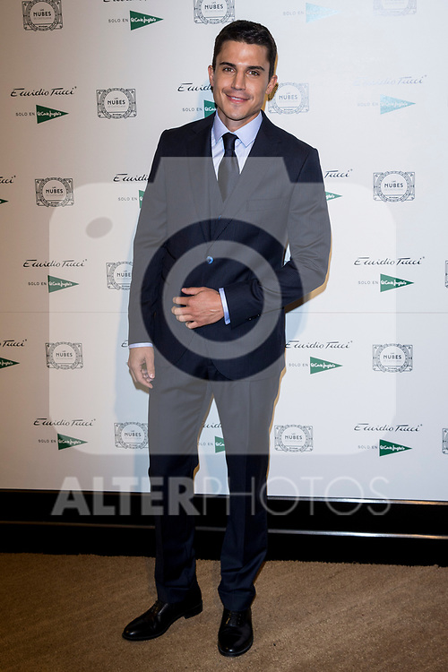 Alex Gonzalez attend Emidio Tucci parade of the new autumn / winter collection in Madrid, Spain. March 30, 2017. (ALTERPHOTOS / Rodrigo Jimenez)