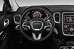 Car pictures of steering wheel view of a 2015 Dodge Durango SXT 5 Door Suv Steering Wheel