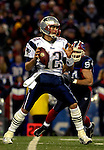 18 November 2007: New England Patriots quarterback Tom Brady (12) in action against the Buffalo Bills at Ralph Wilson Stadium in Orchard Park, NY. The Patriots defeated the Bills 56-10 in their second meeting of the season...Mandatory Photo Credit: Ed Wolfstein Photo