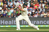 3rd December 2017, Adelaide Oval, Adelaide, Australia; The Ashes Series, Second Test, Day 2, Australia versus England; Shaun Marsh of Australia hits the ball through to the off side