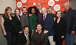 Reed Birney, David Cromer, Annette O'Toole and Tracy Letts with the cast attend the Second Stage Theatre's Off-Broadway Opening Night After Party for 'Man From Nebraska'  at Dos Caminos on 2/15/2017 in New York City.