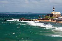 Salvador_BA, Brasil...Litoral de Salvador, capital da Bahia. Na foto Farol da Barra na Praia da Barra...Coast of Salvador, capital of Bahia. In the photo Farol da Barra at Praia da Barra...Foto: JOAO MARCOS ROSA / NITRO