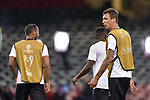 Mario Manduukiz of Juventus during the training session ahead the UEFA Champions League Final between Real Madrid and Juventus at the National Stadium of Wales, Cardiff, Wales on 2 June 2017. Photo by Giuseppe Maffia.<br /> Giuseppe Maffia/UK Sports Pics Ltd/Alterphotos