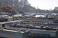 SAO PAULO, SP, 09 MARÇO DE 2012 _Patio da empresa TESPA localizado na AvAlmirante Delamari, lotado de caminhoes tanques que espara para serem abastecido. esta programando para o final de semana uma forca tarefa para abastecerem todos os postos de gasolina (FOTO: ADRIANO LIMA - BRAZIL PHOTO PRESS)
