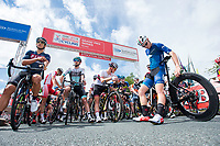 Picture by Allan McKenzie/SWpix.com - 16/07/17 - Cycling - HSBC UK British Cycling Grand Prix Series - Velo29 Altura Stockton Grand Prix - Stockton, England - Riders line up preparing to be gridded.