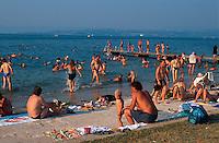 Slowenien,  Izola, Strand