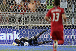 09 June 2011: Chicago's Sean Johnson makes a save. Sporting Kansas City played the Chicago Fire to a 0-0 tie in the inaugural game at LIVESTRONG Sporting Park in Kansas City, Kansas in a 2011 regular season Major League Soccer game.