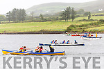 Action from the start of the Girls U16 race at the Over the Water Regatta in Cahersiveen on Sunday.