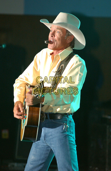 CHRIS LeDOUX.Performs at the 28th Annual Jamboree in the hills, Morristown, OH, USA, 17th July 2004..half length concert gig music guitar .Ref: ADM.www.capitalpictures.com.sales@capitalpictures.com.©JN/AdMedia/Capital Pictures .
