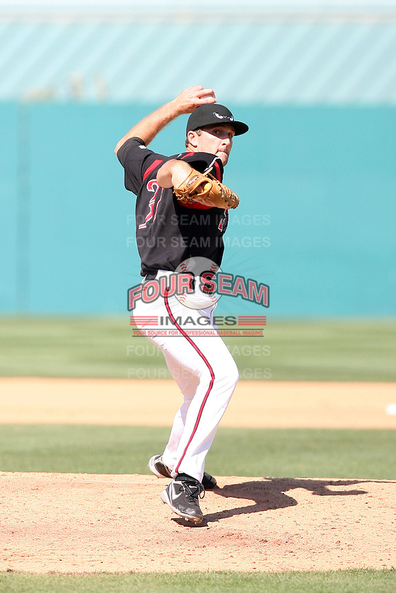 Colt Hynes -  Lake Elsinore Storm playing against the Lancaster JetHawks at the Diamond, Lake Elsinore, CA - 05/16/2010.Photo by:  Bill Mitchell/Four Seam Images