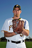Feb 28, 2010; Bradenton, FL, USA; Pittsburgh Pirates  pitcher Zack Duke (57) during  photoday at Pirate City. Mandatory Credit: Tomasso De Rosa/ Four Seam Images