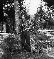 Private of Fourth Michigan Infantry in his hickory shirt.  Mathew Brady Collection. (Army)<br /> Exact Date Shot Unknown<br /> NARA FILE #:  111-B-5348<br /> WAR & CONFLICT BOOK #:  138