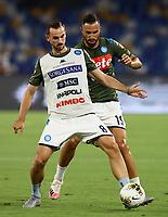 12th July 2020; Stadio San Paolo, Naples, Campania, Italy; Serie A Football, Napoli versus AC Milan; Fabian Ruiz of Napoli during pre-game warm up