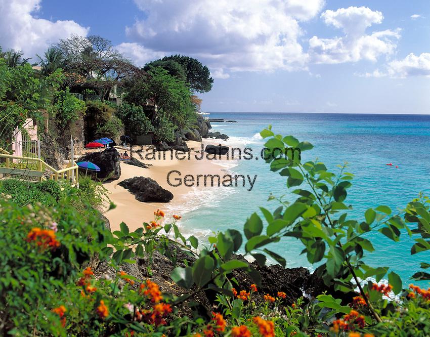 BRB, Barbados, Coconut Creek Hotel - Strand   BRB, Barbados, Coconut Creek Hotel - beach