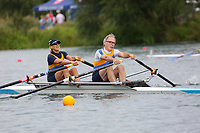 Race: 129  Mx.2x (Band 2)  Rep 1<br /> <br /> Peterborough Summer Regatta 2018 - Sunday<br /> <br /> To purchase this photo, or to see pricing information for Prints and Downloads, click the blue 'Add to Cart' button at the top-right of the page.