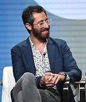 "BEVERLY HILLS - AUGUST 2: Dave Holstein onstage during the ""Kidding"" panel at the Showtime portion of the Summer 2019 TCA Press Tour at the Beverly Hilton on August 2, 2019 in Los Angeles, California. (Photo by Frank Micelotta/PictureGroup)"