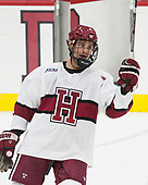 Tyler Moy (Harvard - 2) - The Harvard University Crimson defeated the visiting Boston College Eagles 5-2 on Friday, November 18, 2016, at the Bright-Landry Hockey Center in Boston, Massachusetts.