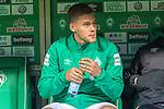 08.03.2019, Weser Stadion, Bremen, GER, 1.FBL, Werder Bremen vs FC Schalke 04, <br /> <br /> DFL REGULATIONS PROHIBIT ANY USE OF PHOTOGRAPHS AS IMAGE SEQUENCES AND/OR QUASI-VIDEO.<br /> <br />  im Bild<br /> <br />  auf der Ersatzbank Felix Beijmo (Werder Bremen #02)<br /> <br /> Foto &copy; nordphoto / Kokenge