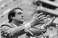 28 Oct 1972 --- Democratic Candidate to the US Vice Presidency Robert Sargent Shriver Jr, during a political meeting in Harlem. Sargent Shriver Jr has been nominated by the Democratic Party along side Senator George McGovern in the presidential campaign against incumbents Richard Nixon and Spiro Agnew. --- Image by © JP Laffont
