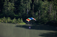Powered Parachute in Flight, Washington State