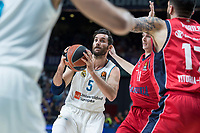 Real Madrid Rudy Fernandez during Turkish Airlines Euroleague match between Real Madrid and Baskonia Vitoria at Wizink Center in Madrid, Spain. January 17, 2018. (ALTERPHOTOS/Borja B.Hojas) (NortePhoto.com NORTEPHOTOMEXICO)