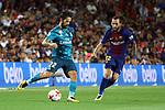 Supercopa de Espa&ntilde;a - Ida.<br /> FC Barcelona vs R. Madrid: 1-3.<br /> Isco vs Aleix Vidal.