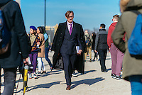 Hamish Bowles at Paris Fashion Week (Photo by Hunter Abrams/Guest of a Guest)