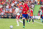 Spain's Gererd Pique during the up match between Spain and Georgia before the Uefa Euro 2016.  Jun 07,2016. (ALTERPHOTOS/Rodrigo Jimenez)