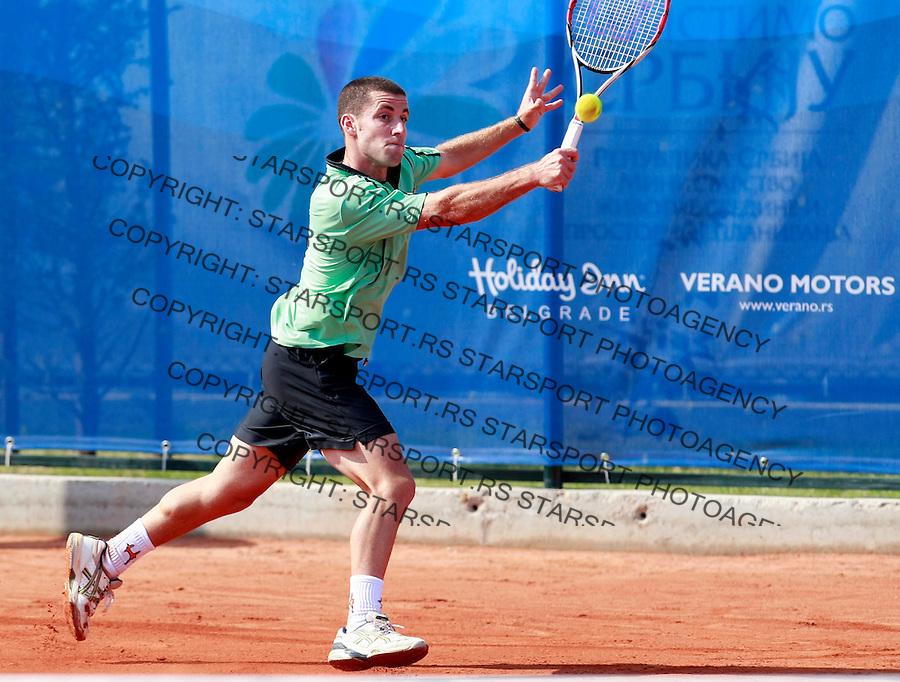 Tenis.ATP Serbia Open 2009.Flavio Cipolla Vs. Pavel Chekhov, kvalifikacije.Flavio Cipolla.Beograd, 03.05.2009..foto: Srdjan Stevanovic/Starsportphoto.com ©