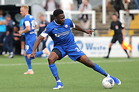 Chesterfield's Mike Fondop-Talom in action during Bromley vs Chesterfield, Vanarama National League Football at the H2T Group Stadium on 7th September 2019
