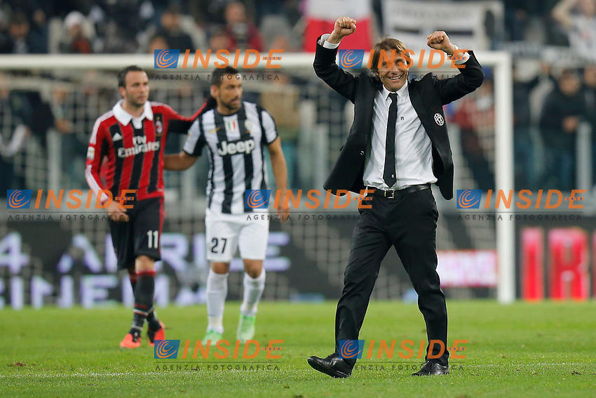Antonio Conte Juventus, Torino 21/4/2013 .Juventus Stadium.Football Calcio 2012/2013 Serie A.Juventus Vs Milan.Foto Marco Bertorello Insidefoto