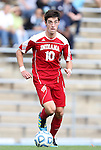 27 November 2011: Indiana's A.J. Corrado. The University of North Carolina Tar Heels defeated the Indiana University Hoosiers 1-0 in overtime at Fetzer Field in Chapel Hill, North Carolina in an NCAA Men's Soccer Tournament third round game.