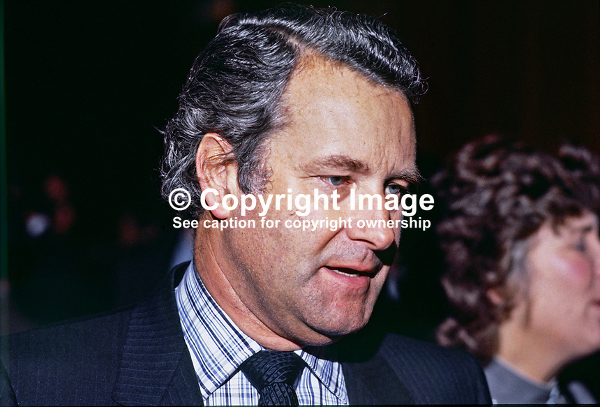 Stratton Mills, Belfast, N Ireland, UK, solicitor, former Ulster Unionist, Independent Unionist and Alliance Party MP at Westminster. 19850502SM ..Copyright Image from Victor Patterson, 54 Dorchester Park, Belfast, UK, BT9 6RJ..Tel: +44 28 9066 1296.Mob: +44 7802 353836.Voicemail +44 20 8816 7153.Skype: victorpattersonbelfast.Email: victorpatterson@mac.com.Email: victorpatterson@ireland.com (back-up)..IMPORTANT: If you wish to use this image or any other of my images please go to www.victorpatterson.com and click on the Terms & Conditions. Then contact me by email or phone with the reference number(s) of the image(s) concerned.