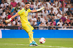 Real Madrid's Kiko Casilla during XXXVIII Santiago Bernabeu Trophy at Santiago Bernabeu Stadium in Madrid, Spain August 23, 2017. (ALTERPHOTOS/Borja B.Hojas)