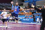 handball wordl cup match between France vs Argentina.  luka karabatic. 2015/01/26. Doha. Qatar. Alberto de Isidro.Photocall 3000