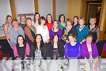 Enjoying her 30th birthday was Diane O'Connor(center) from Caherhayes, Abbeyfeale, pictured here last Saturday night with family and friends in The Devon Inn, Templeglantine. F l-r: Anne Marie Roche, Bridget Lee, Diane O'Connor, Anne Marie Flynn, Anne O'Connor. M l-r: Patsy Roche, Ann Costello, Jane Roche, Sorcha Quirke, Marian Roche, Maura Buckley, Joan Fitzgibbon. B l-r: Caroline Houlihan, Eileen McNamara, Marie Collins, Lorraine Roche, Jessica Roche and Moira Callanan.
