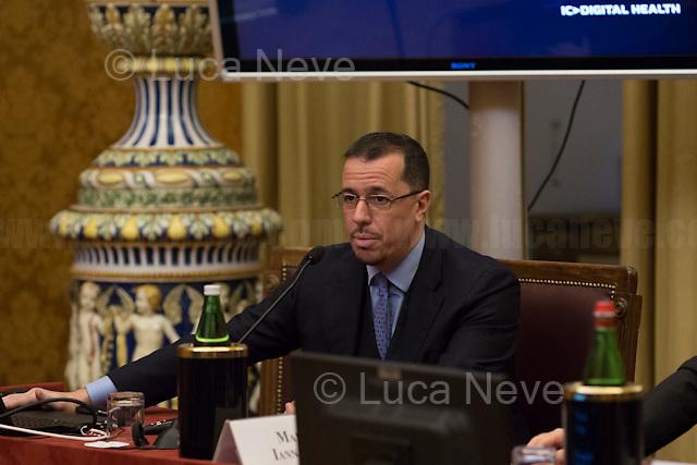 Alberto Giannini (Portale della Salute).<br /> <br /> Rome, 15/12/2017. Today, the Chamber of the Deputies of the Italian Republic held the 6th annual Conference: &quot;La tecnologia che migliora la vita delle persone - Tecnologia Solidale 2017&quot; (The technology which improves people's lives - Assistive Technology 2017). The event, held in the &quot;Sala Aldo Moro&quot;, was hosted by Antonio Palmieri MP (Forza Italia Party - Member of the &quot;Intergruppo innovazione&quot;), Simone Baldelli MP (Forza Italia Party, Vice-president of the Chamber of Deputies), Giovanni Iozzia (Director of Economyup.it) and Stefano Epifani (Professor of Internet &amp; Social Media Studies at Universit&agrave; La Sapienza di Roma, fondatore di Tech Economy, Presidente Digital Transformation Institute &amp; UN advisor). Guests of the event were: Paola Cavallero (Director of Marketing &amp; Operations Microsoft Italy), Franco Bernardi (ASPHI), Bruno Calchera (CSR Oggi), Enrico Capiozzo (VEASYT), Lorenzo Di Ciaccio (Pedius), Francesca Fedeli (Fight the stroke), Mary Franzese (Neuron Guard), Alberto Giannini (Portale della Salute), Marco Iannacone (EdiTouch), Diego Ierna &amp; Luca di Francesco (Job4Good), Francesco Menegoni (GLIfe Company), Gianluca Ricci (Cuore Digitale), Luca Spaziani (DigitAbili), Mario Vigentini (Mario's way). From the organisers event page: &lt;&lt;We present our initiatives, perspectives and goals for 2018, and we will discuss the creation of an ecosystem that holds together startups, businesses, initiatives, companies that use technology to improve people's lives. And then, what to ask politics to be properly open to innovation?&gt;&gt;<br /> <br /> For more info please click here: http://bit.ly/2kS6JfS<br /> <br /> For a video of the event please click here: http://webtv.camera.it/evento/12370