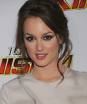 LOS ANGELES, CA. - December 05: Leighton Meester arrives at the KIIS FM's Jingle Ball 2009 at the Nokia Theatre L.A. Live on December 5, 2009 in Los Angeles, California.
