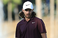 Tommy Fleetwood (ENG) on the 17th green during Saturday's Round 3 of the 2018 Turkish Airlines Open hosted by Regnum Carya Golf &amp; Spa Resort, Antalya, Turkey. 3rd November 2018.<br /> Picture: Eoin Clarke | Golffile<br /> <br /> <br /> All photos usage must carry mandatory copyright credit (&copy; Golffile | Eoin Clarke)