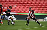 Samir Carruthers of Sheffield Utd during the U23 Professional Development League Two match at Bramall Lane Stadium, Sheffield. Picture date 18th August 2017. Picture credit should read: Simon Bellis/Sportimage
