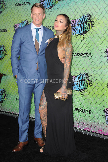 www.acepixs.com<br /> August 1, 2016  New York City<br /> <br /> Joel Kinnaman and Cleo Wattenstrom attending the world premiere of Warner Bros. Pictures and Atlas Entertainment&rsquo;s 'Suicide Squad' at the Beacon Theatre on August 1, 2016 in New York City.<br /> <br /> <br /> Credit: Kristin Callahan/ACE Pictures<br /> <br /> <br /> Tel: 646 769 0430<br /> Email: info@acepixs.com