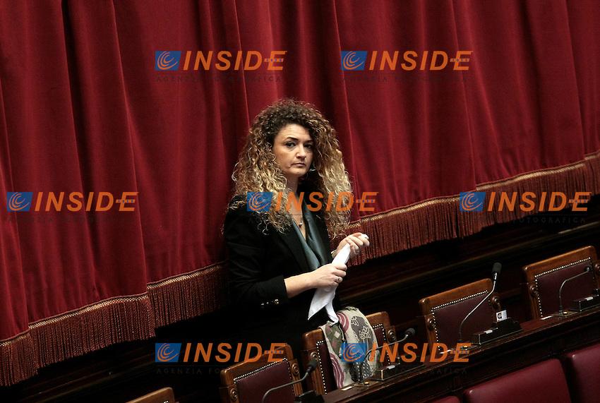 Tatiana Basilio<br /> Roma 31-01-2014 Camera. Voto sulle pregiudiziali di costituzionalit&agrave;' della legge elettorale.<br /> Photo Samantha Zucchi Insidefoto