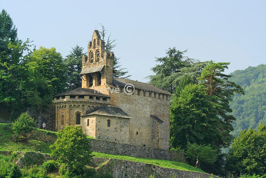 France, Ariège (09), Castillon-en-Couserans, chapelle Saint-Pierre // France, Ariège, Castillon-en-Couserans, chapel Saint-Pierre