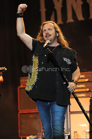 HOLLYWOOD FL - MARCH 3 :  Johnny Van Zant of Lynyrd Skynyrd perform at Hard Rock live held at the Seminole Hard Rock hotel & Casino on March 3, 2011 in Hollywood, Florida. © Mpi04 / MediaPunch Inc.