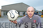 Field of Dreams Buiild it and they will come: Peter Browne who is building an astro turf pitch into the disused Browne's factory in Castleisland for use by the local clubs in the area